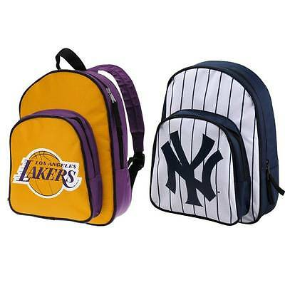 Zaino Bambino Backpack Ufficiale Team New York Yankees Los Angeles Lakers & More