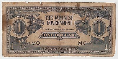 (MP54) 1940 Japan $1 invasion money (J)
