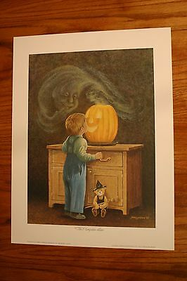 The Pumpkin Man James Lumbers Child Ghost Jack O Lantern Halloween