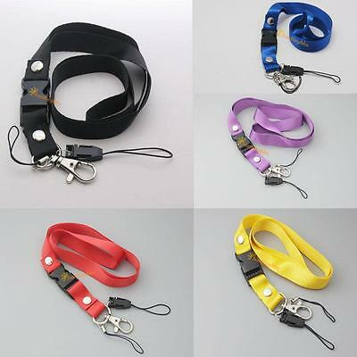 Neck Strap Lanyard STRAP for MOBILE PHONE MP3 CARD HOLDER KEYS CAMERA 5 Color