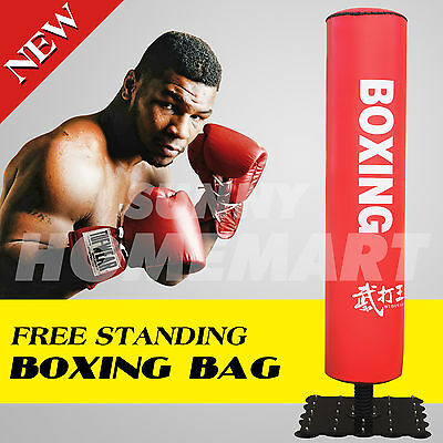 1 x Free Standing Boxing Punching Kicking Bag Home GYM Fitness Practice Exercise