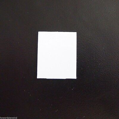Piano Key Fronts - White - Full Set of 52