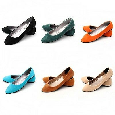 Ladies girl Ballerina Dolly Microsuede Pump Womens Slippers Flat Shoes hot sale