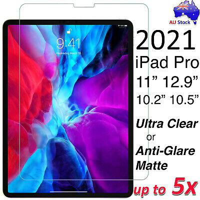 """Ultra Clear or Matte Screen Protector for iPad 10.2"""" Pro 11"""" 12.9"""" Air 10.5"""" 7.9"""