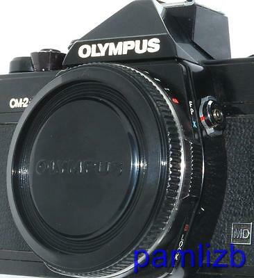 Protective  Body cap fits  Olympus OM 35mm SLR film Camera  , NEW  replacement