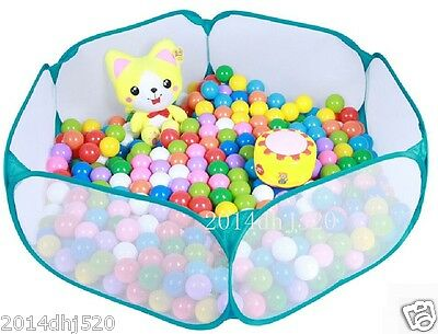 Kids Portable Blue Net Pit Ball Pool  Outdoor Indoor Baby toy Play tent Playhut