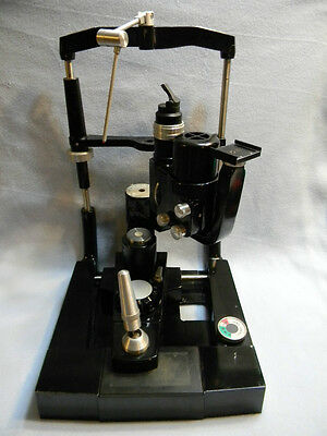 American Optical AO SLIT LAMP Model 11666 * Mad Lab!