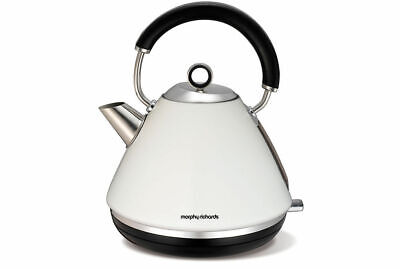 Morphy Richards 102005 1.5L White Traditional 360 Electric Cordless Kettle 2200W