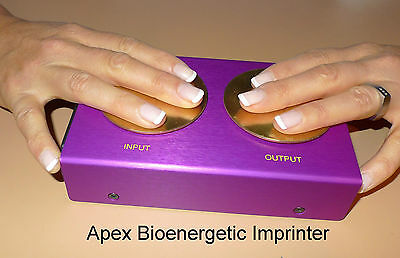 Apex  Bioenergetic Imprinter, new improved model now available.