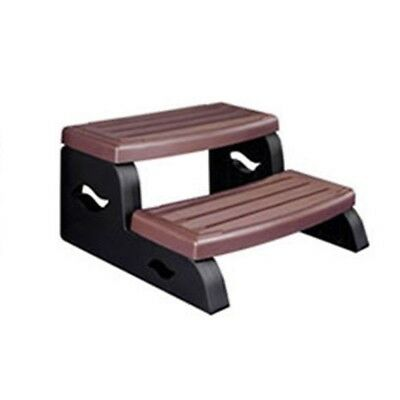 Leisure Concepts DS2BR DuraStep II Spa Step in Redwood Color DSII-BR