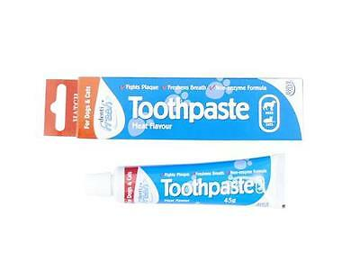 Hatchwells DentiFresh Puppy Dog & Cat Toothpaste, Finger Toothbrush & Dental Kit