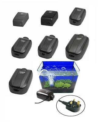 Hidom Silent Aquarium Air Pump Fish Tank Quiet Single/Twin Valve Tropical Marine