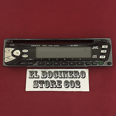 JVC KD-S550  *** STEREO FACEPLATE ONLY *** AM FM EQ CD MP3 WMA