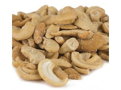 SweetGourmet Cashews Roasted Salted Large Pieces -10LB FREE SHIPPING!