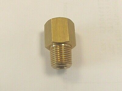 Male NPT to Female BSP in BRASS, American-European Male-Fem Extension Adapters