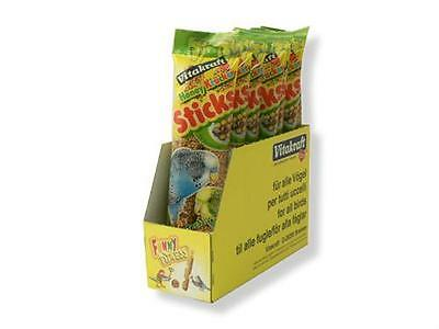 Vitakraft Budgie And Canary Treat Sticks 1 Twin Pack Assorted Flavours