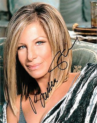 Barbra Streisand Signed Autographed Reprint 8x10 Photo