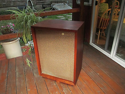 Vintage Tannoy Red Dual Concentric LSU/HF/ 15L in Nice Original Cabinet