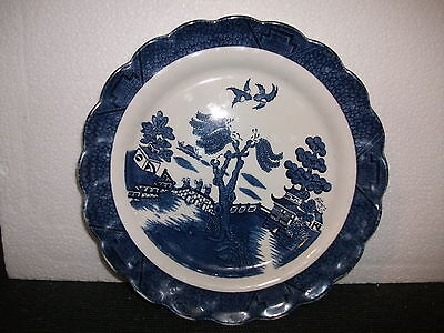 booth real old willow plate  (pattern a8025)