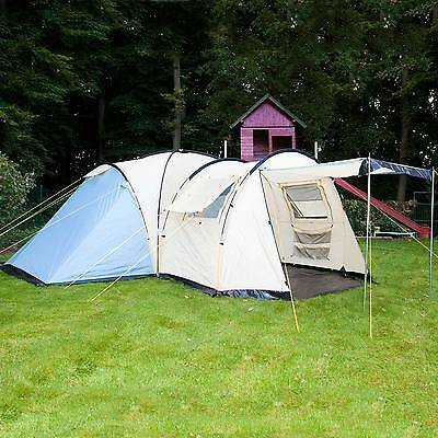 skandika Toronto 6 Person/Man Family Dome Camping Tent Large Group Canopy New
