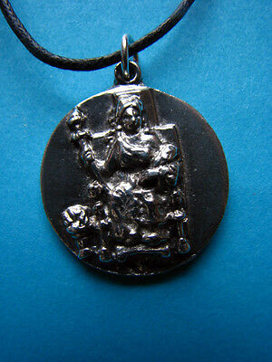 Lead Free DEMETER GODDESS Necklace Pendant Wicca Pagan Ceres Fertility