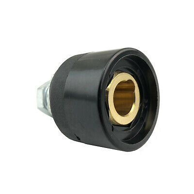Panel Socket Welding Cable Connector - 35-50 DINSE Style - 200- 300 Amp - PS3550