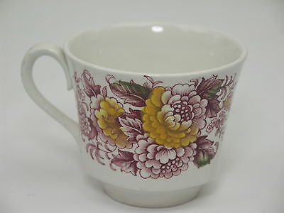 Ridgway Ironstone Canterbury Coffee Cup - Staffordshire England - #4269