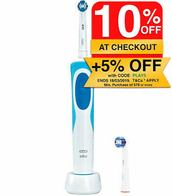 Oral B Vitality Precision Clean Electric Rechargeable Oscillating Toothbrush