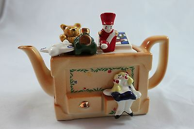 CARDEW DESIGN - Toy Box Teapot - Games, Doll, Train, Solider, Teddy Bear