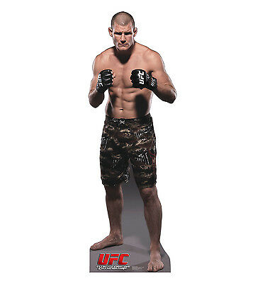 Michael Bisping from UFC OFFICIAL CARDBOARD CUTOUT Standup. Great for UFC fans!