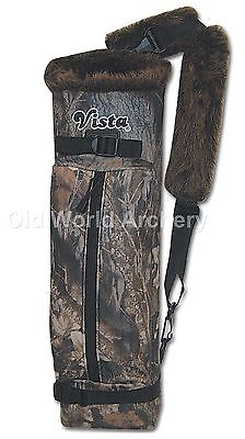 Vista Maverick II Back Quiver , Fleece Shell with Takedown Recurve Compartment