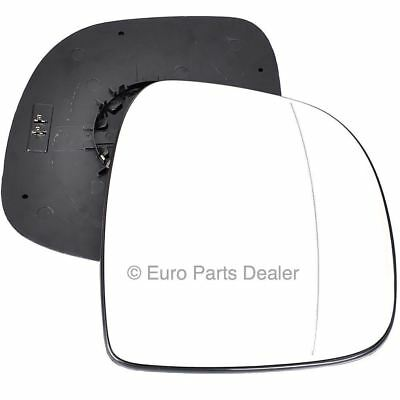 Right Driver Side WIDE ANGLE HEATED WING DOOR MIRROR GLASS Mercedes Vito 2 03-09
