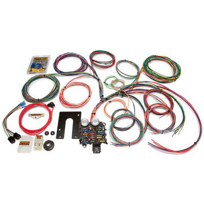 Painless Performance Products 10105 Jeep Chassis Harness Pre-1975 Jeep CJ2/CJ5