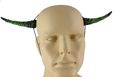 Green Costume Horns Costume Accessory 4-1/2 Inch  Green Latex Horn CLOSEOUT