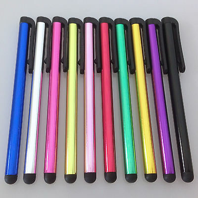 10x Touchpen Eingabestift Alu Stylus Smartphone Tablet - iPhone iPad Samsung HTC