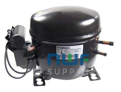 Tecumseh AE4450Y-AA1A Replacement Refrigeration Compressor R-134A 1/3 HP
