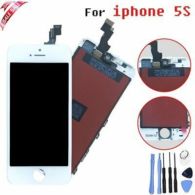 New Replacement Touch Screen LCD Digitizer For iPhone 5S White+Tools