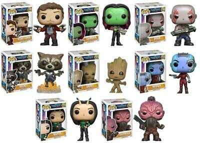 Marvel Guardians Of The Galaxy -  Pop Figure 8 Designs To Choose From - Funko
