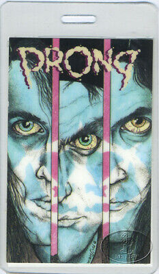 PRONG 1990 BEG TO DIFFER TOUR LAMINATED BACKSTAGE PASS
