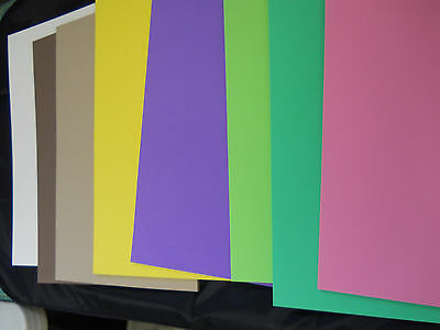 """10 pieces 1/4"""" (6mm) FOAM SHEETS 12""""X18"""",  model, cosplay, podiatry, medical."""