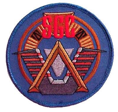 "Stargate SGC Command  Logo 3.5"" Uniform Patch- FREE S&H  (SGPA-01)"