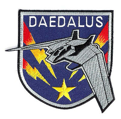 "Stargate SG-1 Daedalus Ship Logo 3.5"" Screen Accurate Patch- FREE S&H (SGPA-40)"