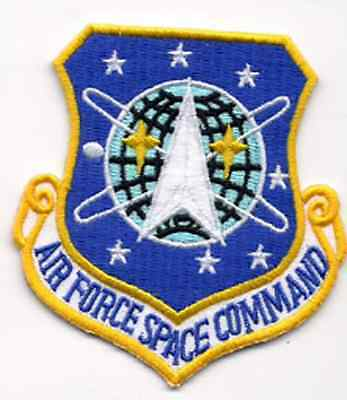 "Stargate SG-1 Air Force Space Command Logo 3"" Uniform Patch- FREE S&H(SGPA-07)"