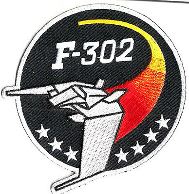 "Stargate SG-1 F-302 Uniform 3.5"" Patch- FREE S&H  (SGPA-34)"