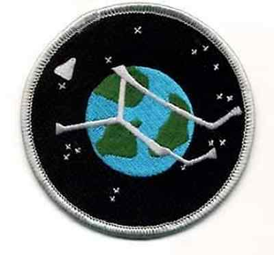 "Stargate Atlantis Project Planet Logo  3.5"" Uniform Patch- FREE S&H  (SGPA-23)"