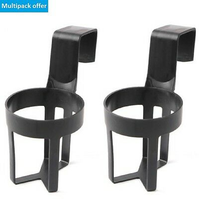 2 x Universal Car Truck Door Cup Mount Beverage Drink Bottle Holder Stand