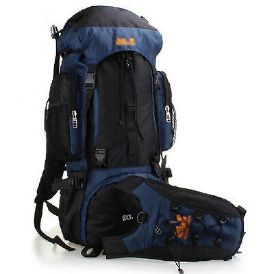 X-Large 70L Outdoor Travel Camping Hiking Climbing Backpack Rucksack Sports Bag