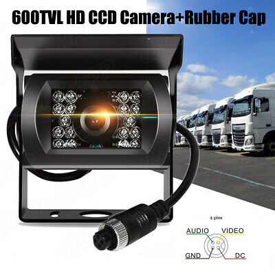 2.4GHz Wireless Backup Reverse CCD Camera for Car Truck Bus Caravan 12-24V