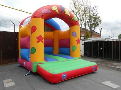 Arch Type Bouncy Castle 13.5 FT X 14 FT Man Stock Castle