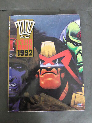 2000 AD Year Book 1992